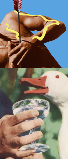 Arrow/Glass/Duck John Baldessari