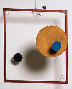 Red Frame Calder Rome Retrospective