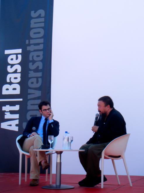 Ai Weiwei Art Basel Conversations Miami Beach Oceanfront