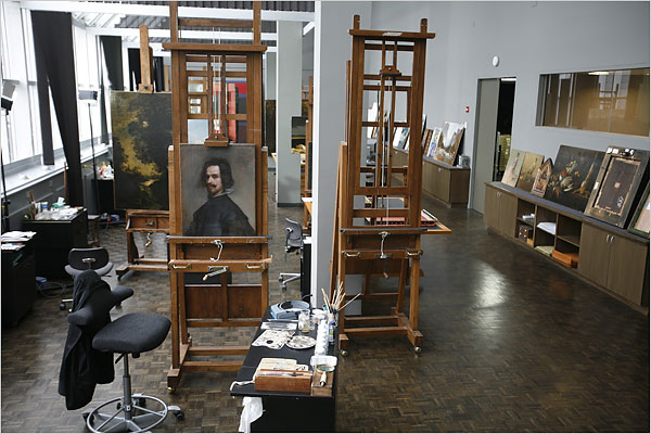 Velazquez in the Lab, 2009, Via NYTimes