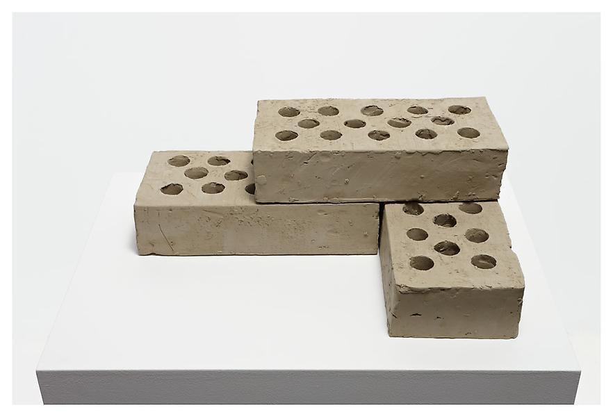 """W """"Three Bricks"""" 2009 Via Matthew Marks"""