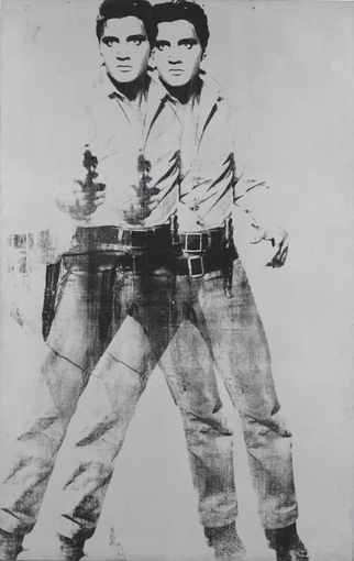 "Warhol, ""Double Elvis"" 1963 Via Kunsthaus Graz"