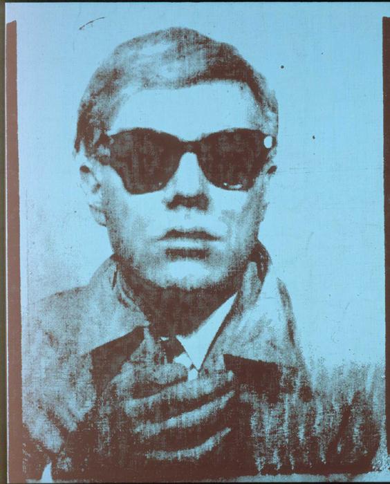 Warhol Selfportrait, 1963, Via Kunsthaus Graz