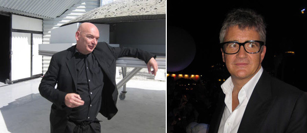 Architect Jean Nouvel and Dealer Jay Jopling