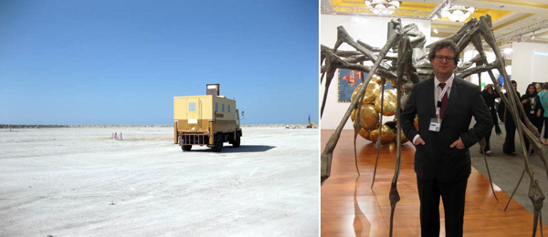 Site for Guggenheim in Abu Dhabi and Dealer Iwan Wirth