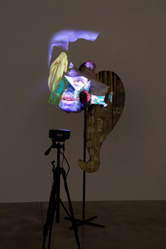 crystal superstition cave tony oursler baronian francey