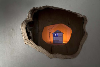tony oursler baronian francey 2009 flood or fear with bugs