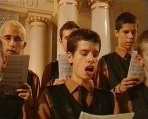 Artur Zmijewski Singing Lesson