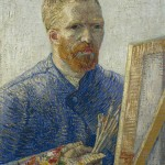 Vincent Van Gogh-Self-Portrait as an Artist-1888