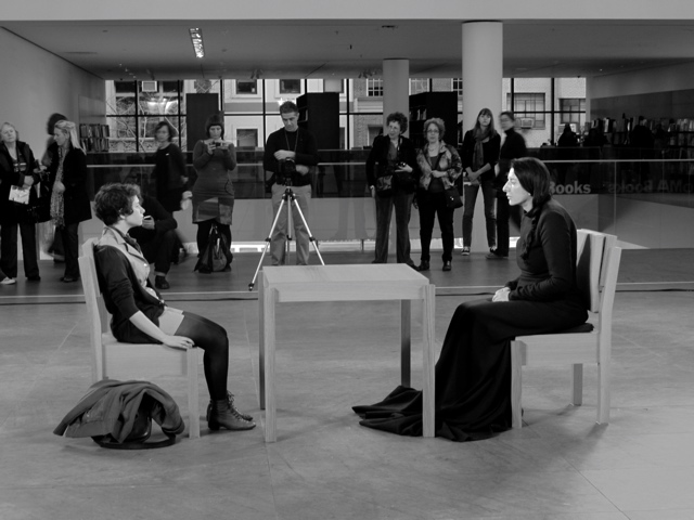 Ao on site new york marina abramovi the artist is present at marina abramovic the artist is present thecheapjerseys Image collections
