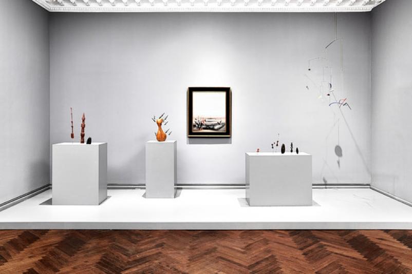Spectacular Go See u New York uTanguy Calder Between Surrealism and Abstraction u at L u M Arts through July th