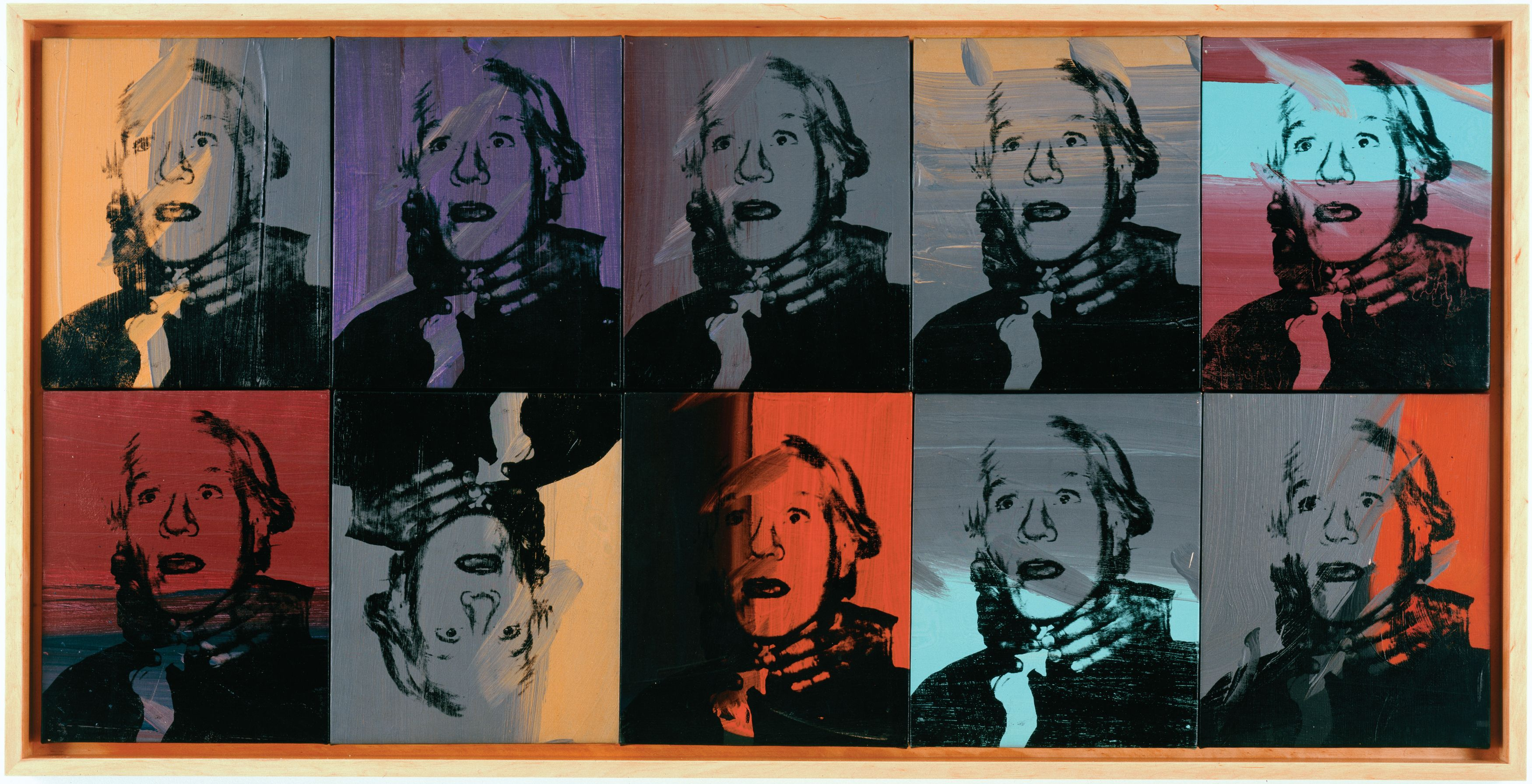andy warhol the artist Product features andy warhol art print wall painting decor artwork by mark lewis art.