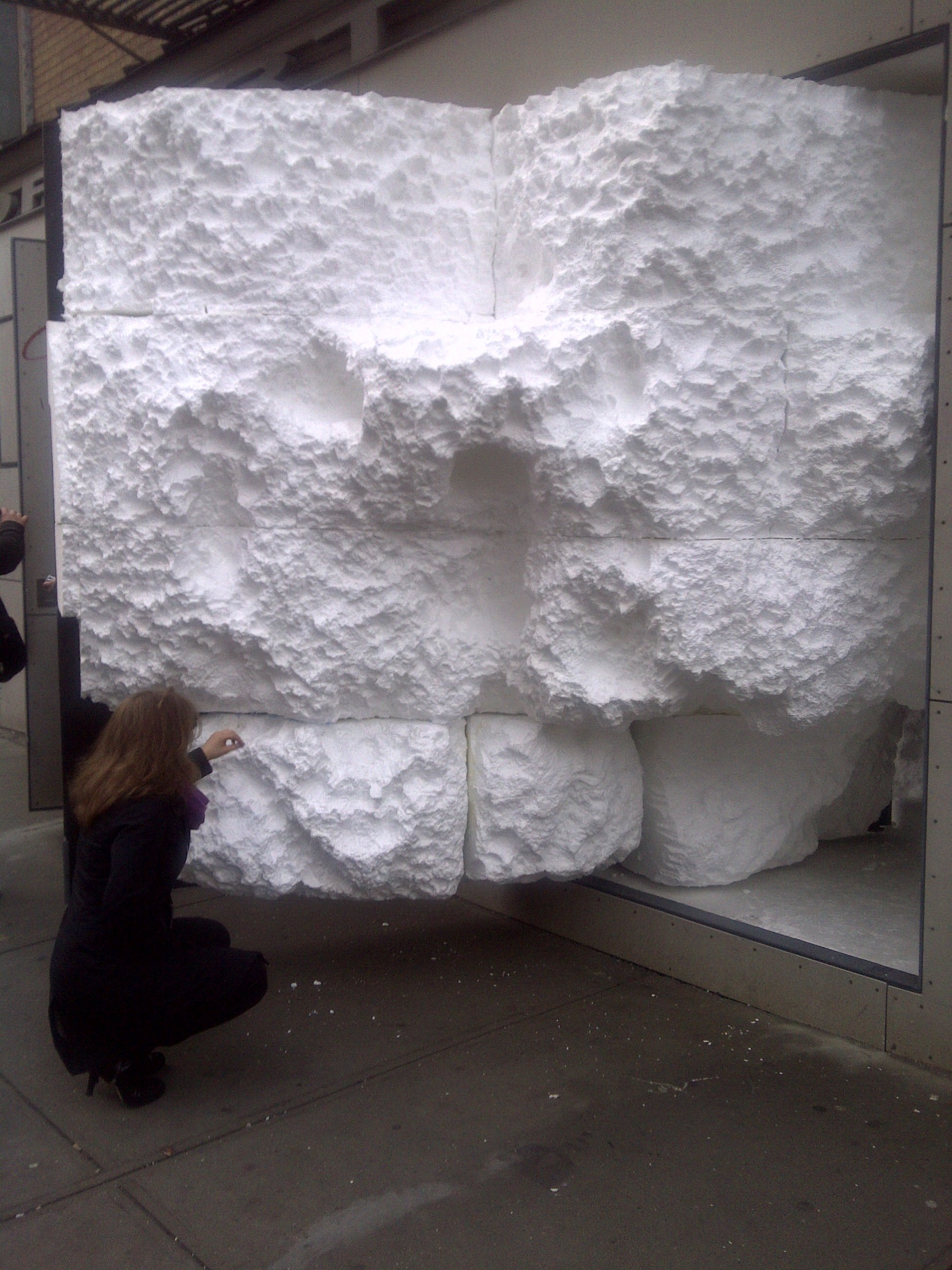187 Ao On Site With Video New York Daniel Arsham