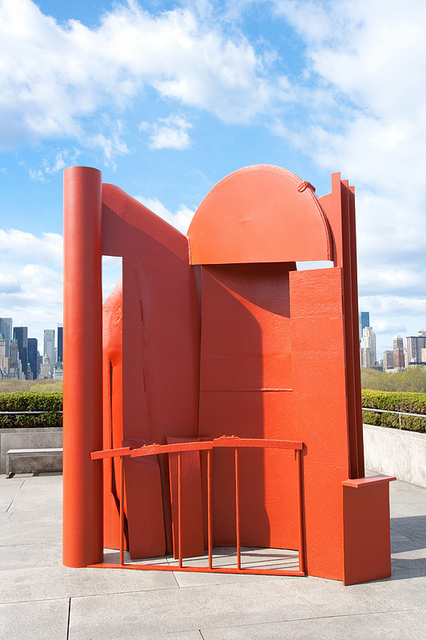 187 Go See New York Anthony Caro Caro On The Roof At