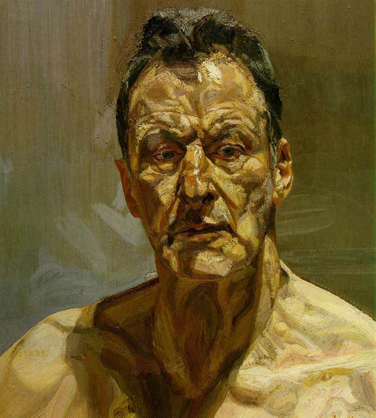Lucian Freud Self Portrait 1985