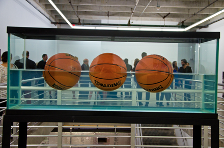 Jeff Koons Three Ball 50-50 Tank (Dr J Silver Series) (1985)