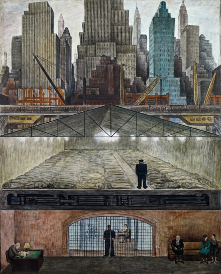 Diego Rivera, Frozen Assets (1931-1932), All Images Courtesy of MoMA Interactive