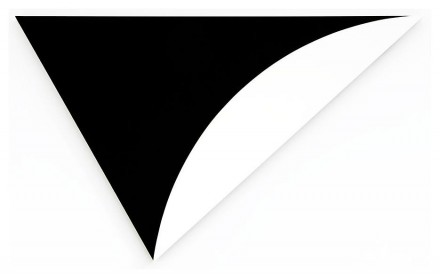 Ellsworth Kelly, Black Relief with White (2011)