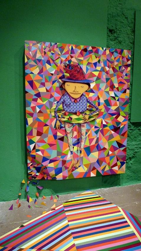 Vila Velha, Brazil: Os Gemeos 'Fermata' at Museu Vale through ...
