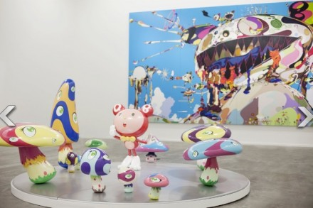 Installation View of Murakami Ego Photo by Chika Okazumi, via Huffington Post