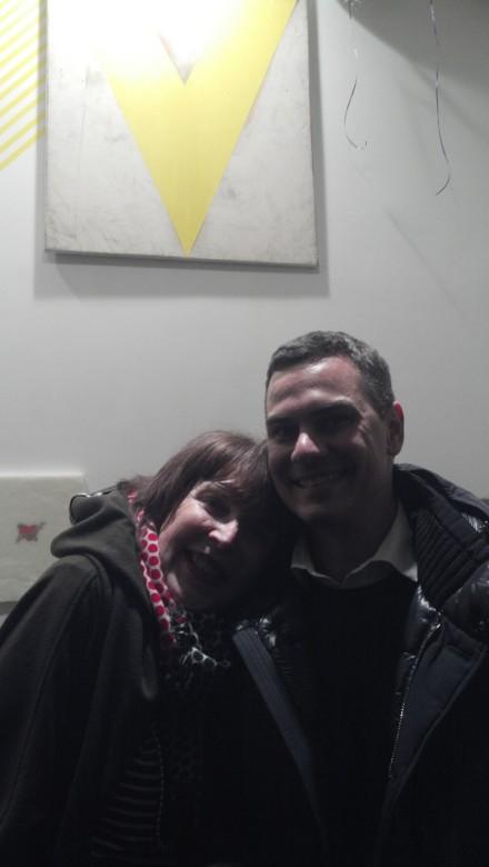 Marilyn Minter and Massimiliano Gioni