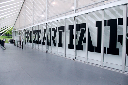 Awesome Entrance to the Frieze Art Fair
