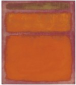 Mark Rothko, Orange, Red, Yellow (1961), via Christie's