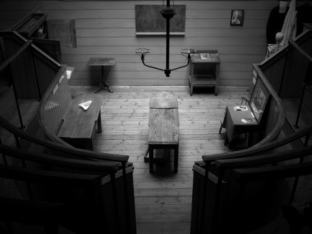 Image from The Last Pictures - Old Operating Theater, St Thomas Church via Creative Time