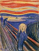 Edvard Munch The Scream via The New York Times