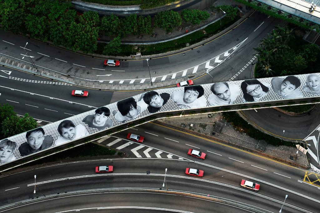 JR's Inside Out Project in Hong Kong
