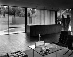 Night by Alberto Giacometti in the Glass House Andre Kertsez House and Garden, Conde Nast 1949