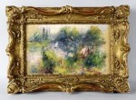 Renoir Paysage Bords de Seine via The Washington Post