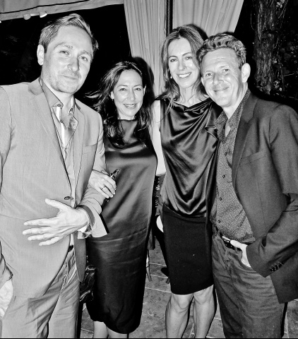 Sean Daly, Shaun Regen, Kathryn Bigelow, and John Logan via Vogue