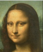 The Mona Lisa by Leonardo da Vinci via The Louvre