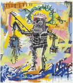 Basquiat Untitled, 1981, acrylic and oil stick on canvas, 78 x 68 inches via Christies