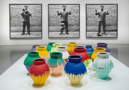 Ai Weiwei: According to What? at Hirshhorn, Installation View: Dropping a Han Dynasty Urn and Colored Vases