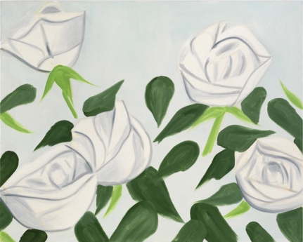 Alex Katz via Timothy Taylor Gallery