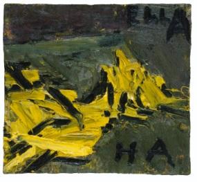 Frank Auerbach, E.O.W. Reclining via Sothebys