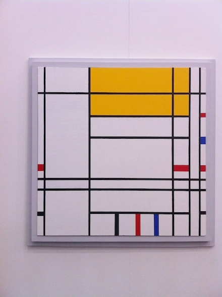 Darren Lago at Annely Juda Frieze Art Fair London 2012