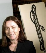 Barbara Castelli with Lichtenstein Electric Cord via Reuters