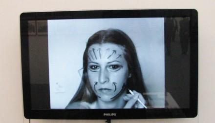 Sanja Ivekovic at Frieze via Art Observed