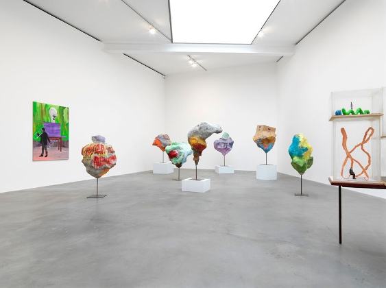 , Franz West,Installation view