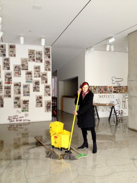 Jane Lombard of Lombard Freid Gallery in Chelsea via Businessweek