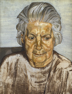 Lucian Freud The Painter's Mother 1972 Courtesy Pilar Ordovas