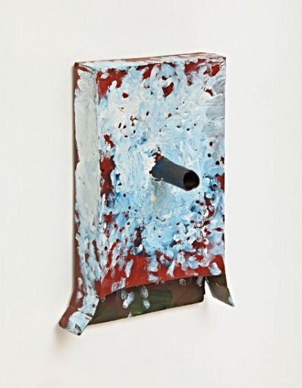 Mark Grotjahn Untitled Mask 2012 M3.b courtesy Gagosian Gallery