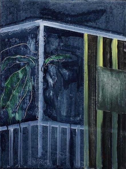 "Peter Doig, ""Night Balcony North Coast"""