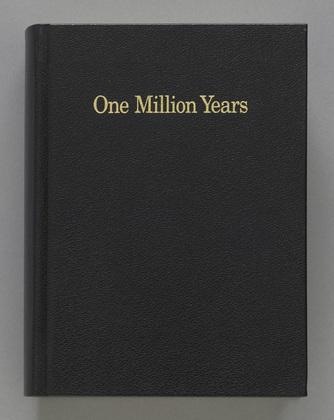 On Kawara One Million Years courtesy MoMA