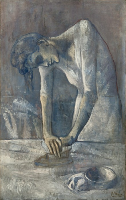 Pablo Picasso, Woman Ironing (La repasseuse), Bateau-Lavoir, Paris, spring 1904
