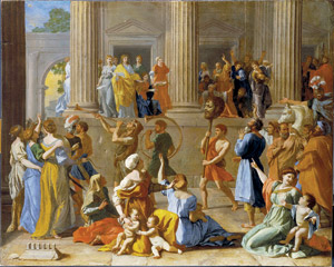 Nicolas Poussin Triumph of David Courtesy Dulwich Picture Gallery