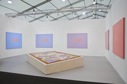 Ricci Albenda Sunrise_Sunset 2012 Marc Camille Chaimowicz Carpet III 2009 Andrew Kreps Gallery